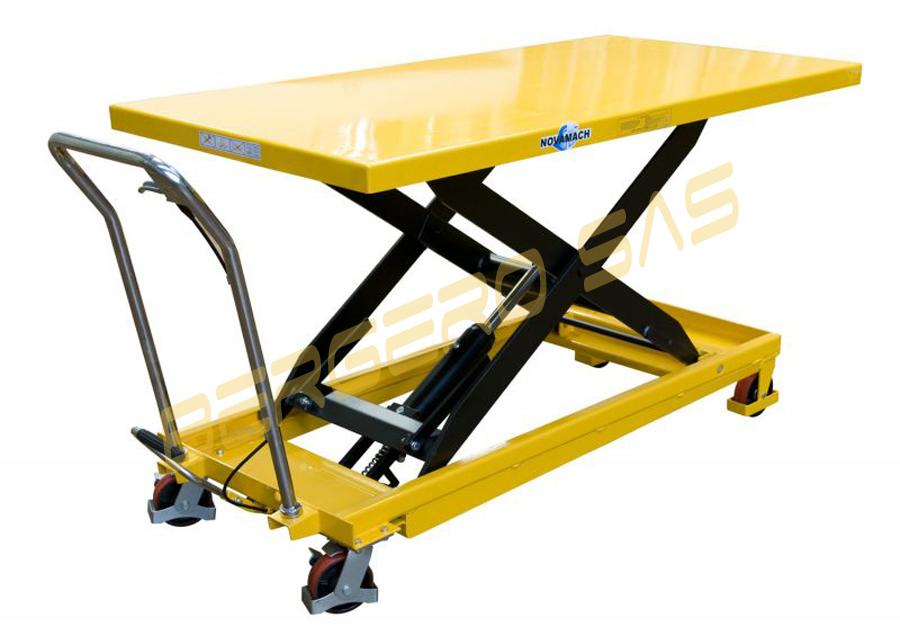 Piattaforma idraulica np50l solleva max 130cm portata for Piani di piattaforma di piattaforma