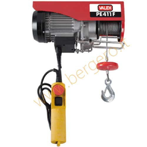 Paranco elettrico pe411f 200 400 kg valex 1655201 ebay for Paranco elettrico valex
